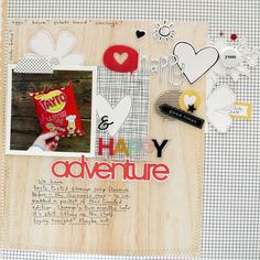 Page Ideas for Scrapbooking Your Food   Sian Fair   Get It Scrapped