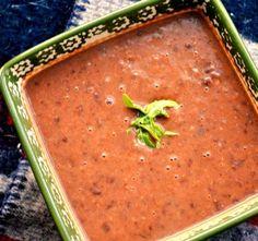 Panera black bean soup.