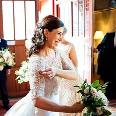 Nalini Wedding at Mansfield Traquair 2015 Mansfield Traquair, Lace Wedding, Wedding Dresses, Hair Makeup, Fashion, Bride Dresses, Moda, Bridal Gowns, Fashion Styles