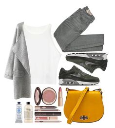 """""""Untitled #190"""" by thebluek-poper ❤ liked on Polyvore featuring NIKE, Siwy, Charlotte Tilbury and philosophy"""