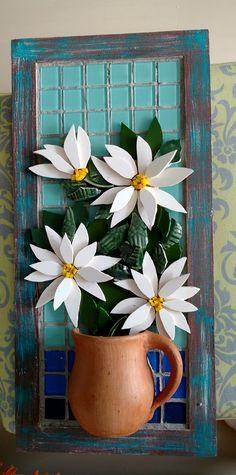 Flores em picassiete