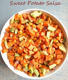 Sweet Potato Salsa