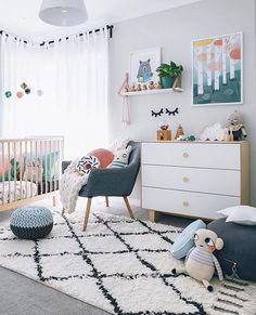 Идея для оформления идеальной детской комнаты