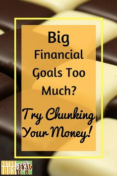 I knew I needed to save for retirement, pay off my debt, and save up an emergency fund. But it just seemed IMPOSSIBLE, so why bother trying? Instead, I reframed how I thought about my goals. Rather than save up a buttload of cash, I instead focused on saving up money in $100 chunks at a time. Each chunk is a win. Thanks to this awesome money chunking strategy, I'm actually able to save AND pay off debt at the same time. It's like magic!