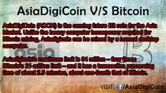 ADCN (AsiaDigiCoin) another Altcoin introduced in February 2016, this is same as Bitcoin.  Like Bitcoin, ADCN has the same growth expectancy and can be earned in the earlier stages at fewer prices to draw benefits in the coming future.  Whatever had happened for Bitcoin in last 7 Years, Like Merchants, ATMS, Acceptance, Users, etc. All Those Will begin To Happen for ADCN for Coming 6 Months.  Merchants for ADCN are growing on a very large scale and can b checked on official website for ADC
