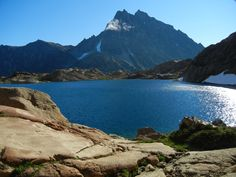 Lake Ingalls and Mt. Stuart, Alpine Lakes Wilderness (Photo by Phil West)