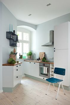 Mint green for kitchen?