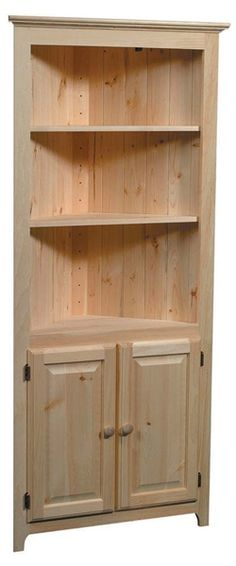 Corner Cabinet by Archbold Furniture