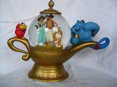 Disney Aladdin Snowglobe