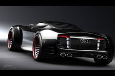 Audi-R10-Concept #LuxuryCars&VintageCars