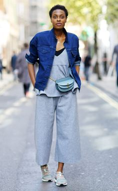 Donna Wallace from Street Style at London Fashion Week Spring 2016