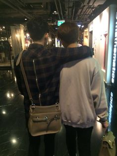 me and jigger out for some late night life Gay Aesthetic, Aesthetic Photo, Ulzzang Couple, Ulzzang Boy, Gay Tumblr, Gay Romance, Cute Gay Couples, Lgbt Couples, Adolescents