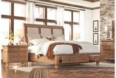 Sequoia Cal King Storage Bed