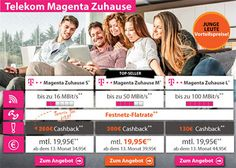 Telekom DSL Magenta Anschluss mit bis zu 300€ Auszahlung http://www.simdealz.de/telekom/magenta-zuhause-dsl-cashback/