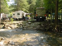 RV Campgrounds & Campsites in NC by Mountain Stream RV Park