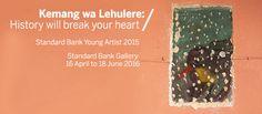 Group Sponsorship | Kemang Wa Lehulere: History will Break your Heart