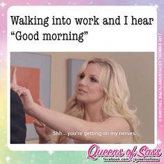 New Funny Good Morning Memes Feelings Ideas Funny Good Morning Memes, Morning Humor, Work Memes, Work Humor, Work Funnies, Funny Images, Funny Pictures, Funny Couples, Fresh Memes