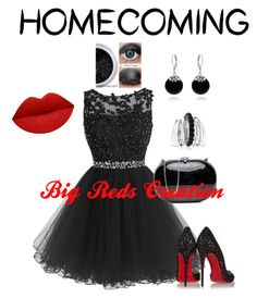 Homecoming by bigreds on Polyvore featuring polyvore, fashion, style, Christian Louboutin, Bling Jewelry, Avenue and clothing