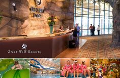 Great Wolf Resorts, Inc. Hotel Jobs, Great Wolf Lodge, Hospitality, Resorts, Vacation Resorts, Beach Resorts, Vacation Places
