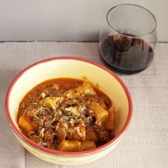 Farro Gnocchi with Pork Ragu is a hearty and delicious meal!
