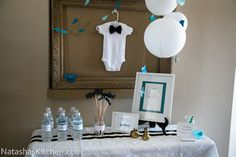 little man baby shower themes for boys | Little Man Baby Shower-3