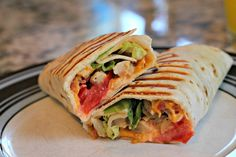 Chicken-Ranch Club Wraps