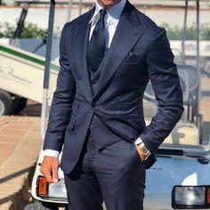 Amazing suit fit