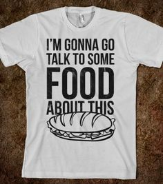 I Need To Talk To Some Food (tee) - Galaxy Cats - Skreened T-shirts, Organic Shirts, Hoodies, Kids Tees, Baby One-Pieces and Tote Bags