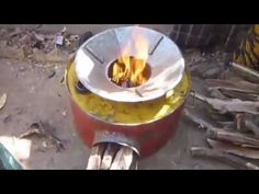 Cool Invention Ideas Homemade Wood Stove for Cooking - YouTube