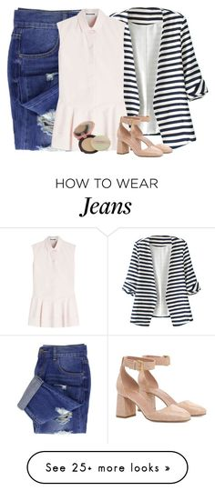 """""""Cuteness Overload #3"""" by ella178 on Polyvore featuring WithChic, Jil Sander, RED Valentino, TONYMOLY, cute, casual, chic, girly and TonymolyCatsWinkClearPact"""