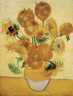 Las obras de arte The Sunflowers - Vincent Van Gogh