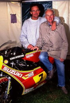 Barry Sheene & Frank Sheene