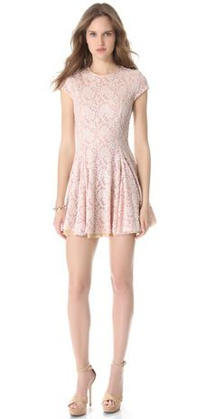 Torn by Ronny Kobo Crystal Lace Dress | SHOPBOP