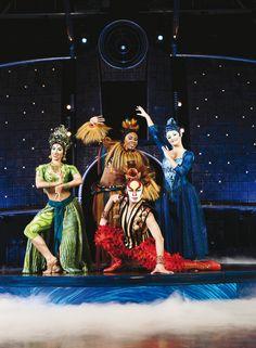 """El Cirque du Soleil """"Dralion"""""""