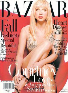 Bazaar September 1997 - Courtney Love. @thecoveteur