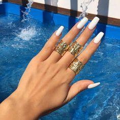 White x Gold  Rings @lacebytanaya