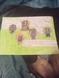 May Mark Andy Drake and Randy meets the Super Bros by Kaylee Alexis part 6