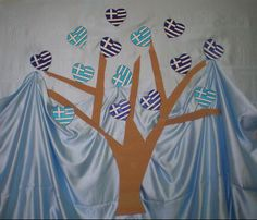 παιχνιδοκαμώματα στου νηπ/γειου τα δρώμενα: οι σημαίες των Ελλήνων !!! 25 March, Kindergarten, School, Crafts, Flags, Home Decor, Manualidades, Schools, Preschool