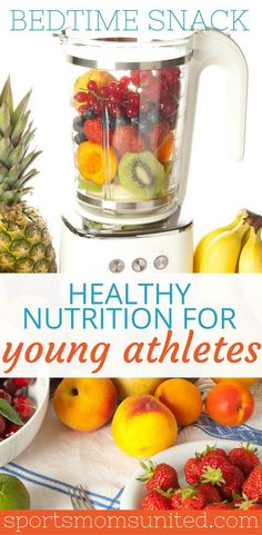 A Bedtime Snack: Could This Help Your Athlete? - Sports Moms United Looking for a healthy bedtime snack for your athlete? Here are my top recommendations for healthy nutrition for young athletes. young athlete nutrition for kids Athlete Nutrition, Proper Nutrition, Nutrition Guide, Kids Nutrition, Health And Nutrition, Sports Nutrition, Nutrition Store, Nutrition Education, Subway Nutrition