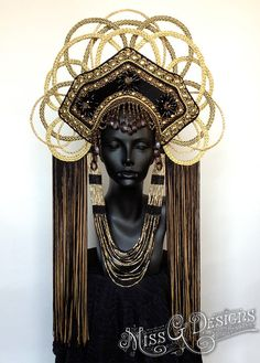 Community Post: This Artist Makes The Coolest Headpieces Ever - Would put Cleopatra herself to shame.
