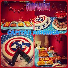 Fiesta Capitán América Birthday Candles, Birthday Cake, Desserts, Food, The Creation, Tailgate Desserts, Deserts, Birthday Cakes, Essen