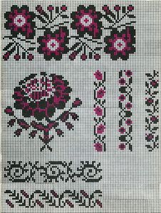 Palestinian Embroidery, Bohemian Rug, Projects To Try, Cross Stitch, Costumes, Rugs, Knitting, Crafts, Handmade