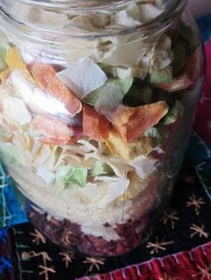 Freeze dried meals in a jar... keep for several years! pdf for everything to buy and recipes to make.