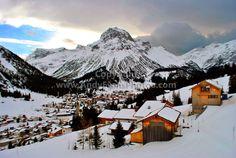 Lech-Zurs am Arlberg Austria mountain landscape photograph picture poster print