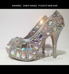 Honey, if this was the shoe I had to leave behind as Cinderella, I would have just settled for being single!
