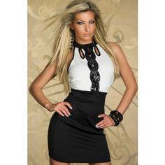 Klassisk elegant kjole - Dameklær - Klær