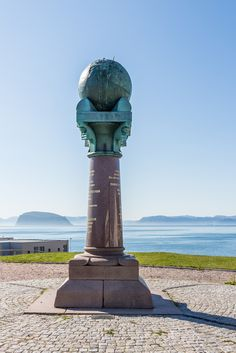 "https://flic.kr/p/gY2RHo | The UNESCO world heritage site ""Struve Geodetic Arc"" that passes 10 countries begins here in the very north of Norway, Hammerfest 