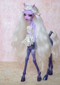 Avea Trotter OOAK Custom Monster High doll Freaky by UnnieDolls