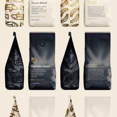 caviar_and_bananas_coffee_jay_fletcher.jpg by Jay Fletcher Food Packaging Design, Coffee Packaging, Chocolate Packaging, Bottle Packaging, Packaging Design Inspiration, Packaging Ideas, Coffee Shop Branding, Banana Coffee, Espresso Coffee