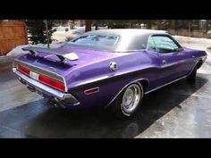 STUNNING PLUM CRAZY 1970 DODGE CHALLENGER RT/SE | HOT CARS